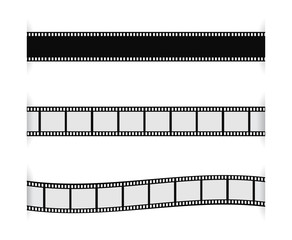 film strip with shadow