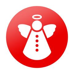 Etiqueta tipo app redonda angel