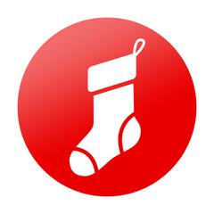 Etiqueta tipo app redonda calcetin