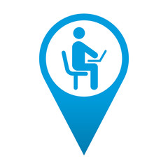 Icono localizacion usuario de ordenador