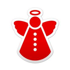 Pegatina simbolo angel