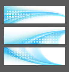 Abstract vector background banners