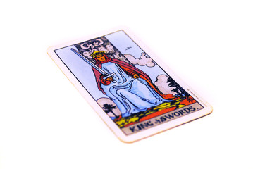 タロットカード ソード キング