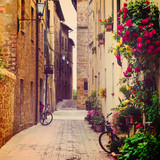 street in Pienza © Sergey Peterman