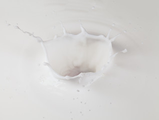 Milk splash crown