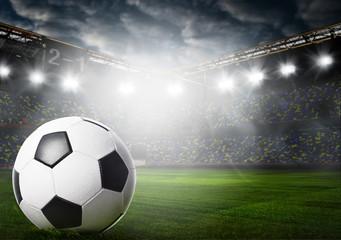 ball on stadium