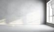 Leinwandbild Motiv 3d white room