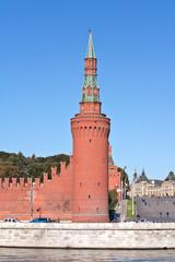 Moscow. Kremlin. Beklemishevskaya or Moskvoretskaya tower