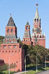 Moscow. Kremlin. Konstantino-Eleninskaya, Nabatnaya, Tsarskaya a