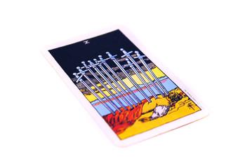 タロットカード ソード10