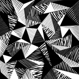 Fototapety abstract geometric background, with strokes, splashes, triangles