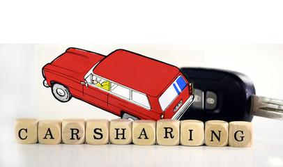 Carsharing Buchstaben