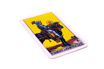 タロットカード  ペンタクル ナイト