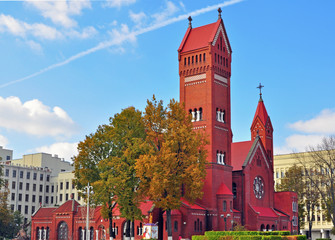 Roman catholic church in Minsk