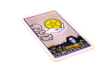 タロットカード  ペンタクル1