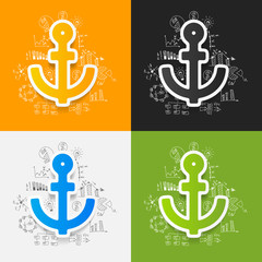 Drawing business formulas: anchor