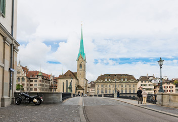 Imperial Abbey of Fraumunster (Reichskloster Fraumunster), Limma