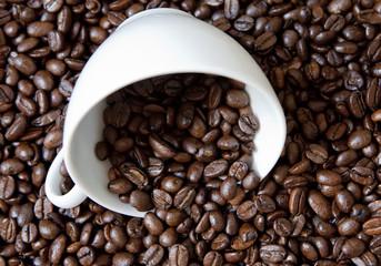 café en graines grillées