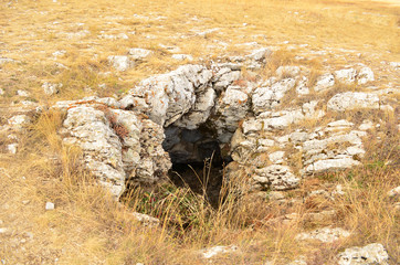 rock cave, Crimea