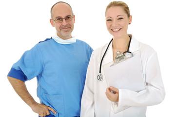 Zwei Ärzte als Team