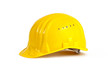 Leinwanddruck Bild - Yellow hardhat