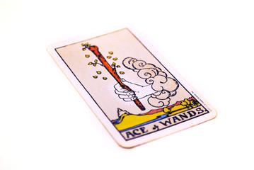 タロットカード ワンド1