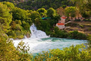 Krka Wasserfälle, Nationalpark Kroatien