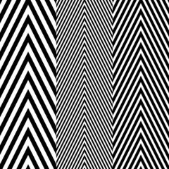 Abstract Black White Herringbone Fabric Style Vector Seamless