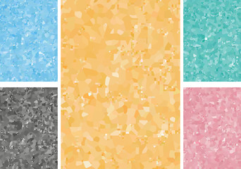 set of abstract colored backgrounds