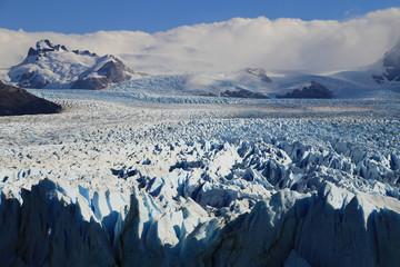 Icefield at Perito Moreno Glacier