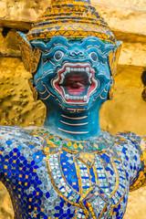yaksha demon grand palace bangkok Thailand