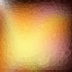 Triangle gold background