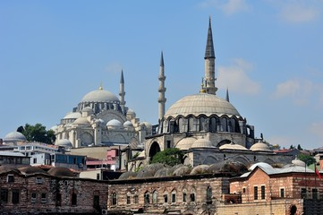 Rustem Pasha and Suleymaniye Mosque