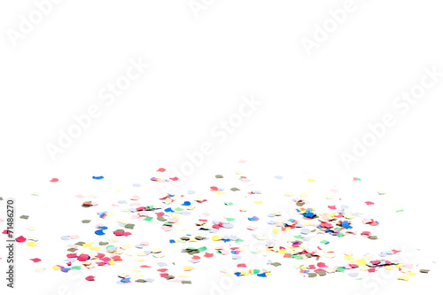 Leinwanddruck Bild Konfetti