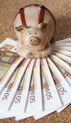 cochon tirelire heureux argent