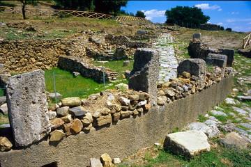 parco degli etruschi area archeologica di roselle grosseto