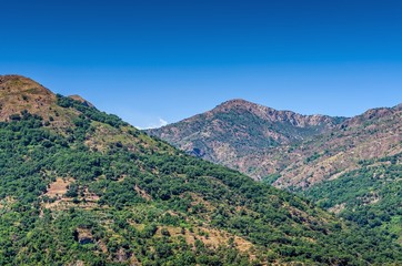Wild landscape, Sicily ,Italy.
