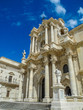 canvas print picture - The Cathedral of Syracuse,Sizilien, Italia