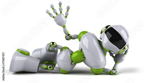 canvas print picture Robot
