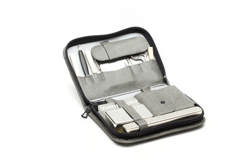 vanity case on the white background