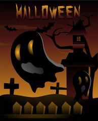 Halloween Cute Ghost template