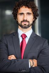 Handsome business man portrait