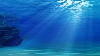 свет под водой