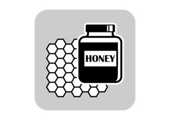 Honey vector icon
