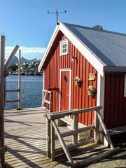 Rorbu en Norvège (Iles Lofoten)