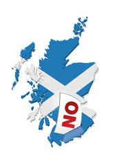 referendum : l'écosse vote non