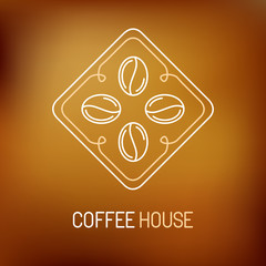 Vector coffee logo and icon
