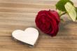canvas print picture - Rosen für Valentinstag und Muttertag