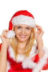 Weihnachtsfrau, Portrait