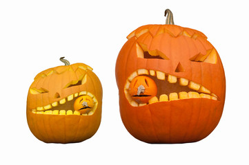 Kürbismonster zu Halloween